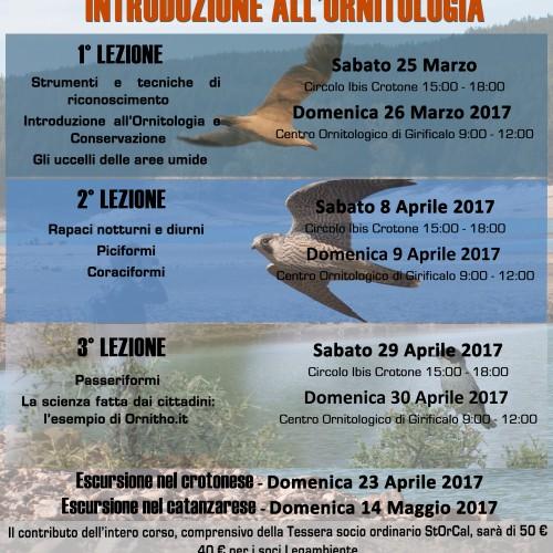 Locandina corso birdwatching_generale